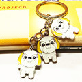 Fashion key chain, pet fine key chain, pet dog key chain. Can be wholesale, to send a friend's birthday gift