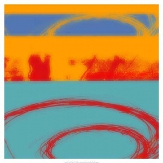 Surf's Up II Poster Print by Ricki Mountain (19 x 19)