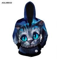 3D Hoodies Sweatshirt Men Harajuku Cute Funny Dog Cat Wolf Tiger Lion Panda Animal Print Hoodie
