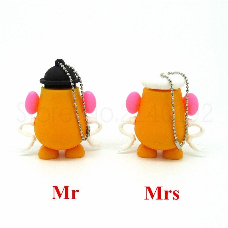 usb flash drive disk mini computer gift memory Stick pendrive 4GB 8GB 16GB 32GB Toy story series Mr & Mrs potato head pendrives