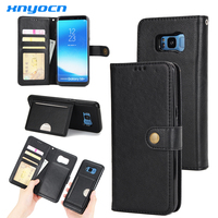 S7 Edge Case 2 In1 Removable Leather Phone Cases For Samsung Galaxy S7 Edge Case Wallet