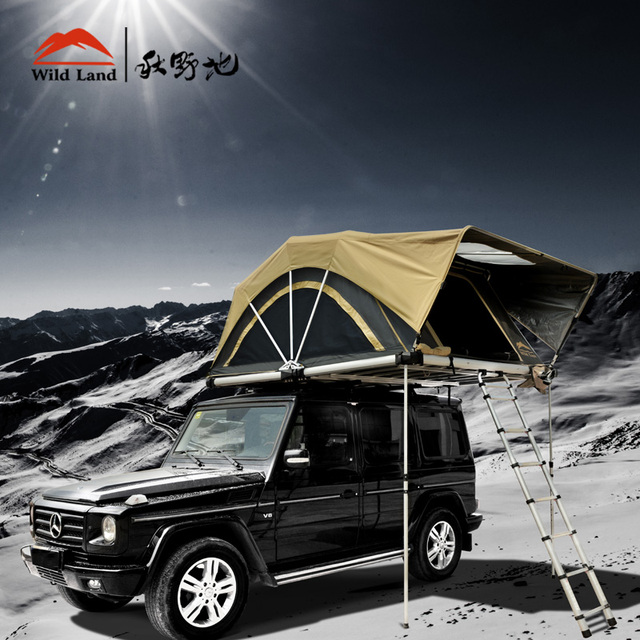 for t tente de toit de voiture land cruiser tentes camping famille espace spacieux 4 personne. Black Bedroom Furniture Sets. Home Design Ideas