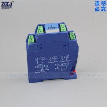 DC Spannung Sender Transmisores Signal Isolator Eingang DC 0-100V 0-500V Ausgang DC 4-20mA Sensor DC Spannung Wandler