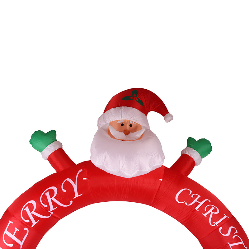 3m-Christmas-Inflatable-Santa-Cluas-Archway-Arched-Door-Blow-Up-Decoration-Advertising (1)