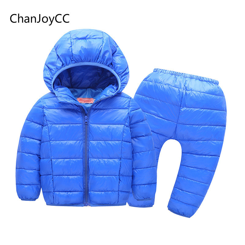 Baby boys and  Girls Winter Hot Sale fashion clothes kids comfortable High-quality suit Keep warm children cotton two-piece sets