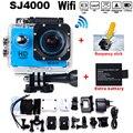 Go Pro Hero3 Стиль SJ4000 WIFI Камера Действий Дайвинг 30 М Водонепроницаемая Камера 1080 P Full HD Подводная Камера Спорта бесплатная Доставка