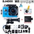 Go Pro Hero3 Style SJ4000 WIFI Action Camera Diving 30M Waterproof Camera 1080P Full HD Underwater Sport Camera Free Shipping
