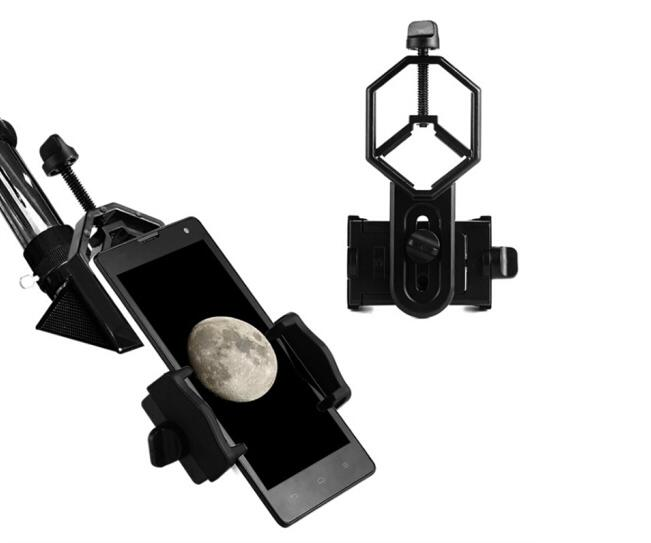 Adaptateur universel Montage Binoculaire Monoculaire Télescope Téléphone Support Oculaire D: 25-48mm pour Télescope Spotting Scope