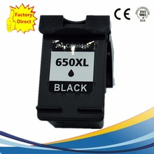 Black 650 XL 650XL Ink Cartridges For HP 650 HP650 HP650XL Deskjet Advantage 1015 1515 2515 2545 2645 3515 4645 Inkjet Printer