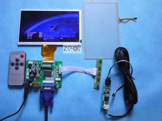 все цены на  2PCS AT070TN90 AT070TN92 AT070TN94 7 INCH TFT LCD +TOUCH SCREEN+ HDMI VGA 2AV A/D Board 800*480 Resolution CAR PC Display Screen  онлайн