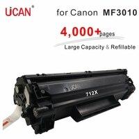 4000 páginas grande cartucho de toner reutilizável volumey impressão 712 312 compatível canon lbp3010 lbp 3010 3018 3030 3050 mf3010 impressora
