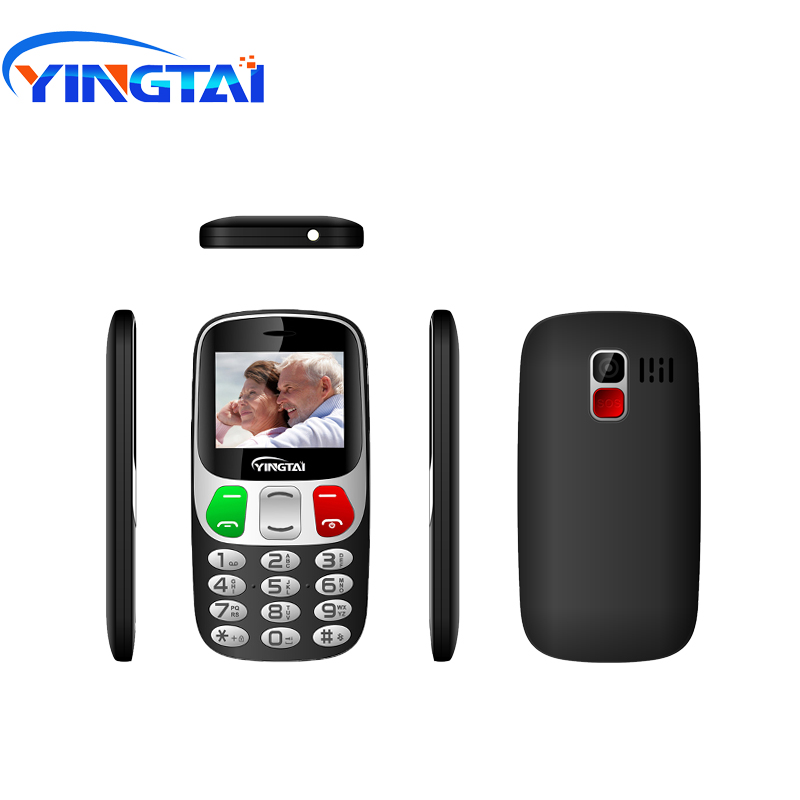 YINGTAI Big Screen/Push Button Virtual Keyboard Bar Cell Phones Better Than Nokia Senior Mobie Phone 1000mah 2.4