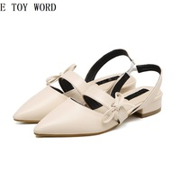 Women's shoes Summer sandals new melting point sandals bowknot is thick with shoes fashion female sandals