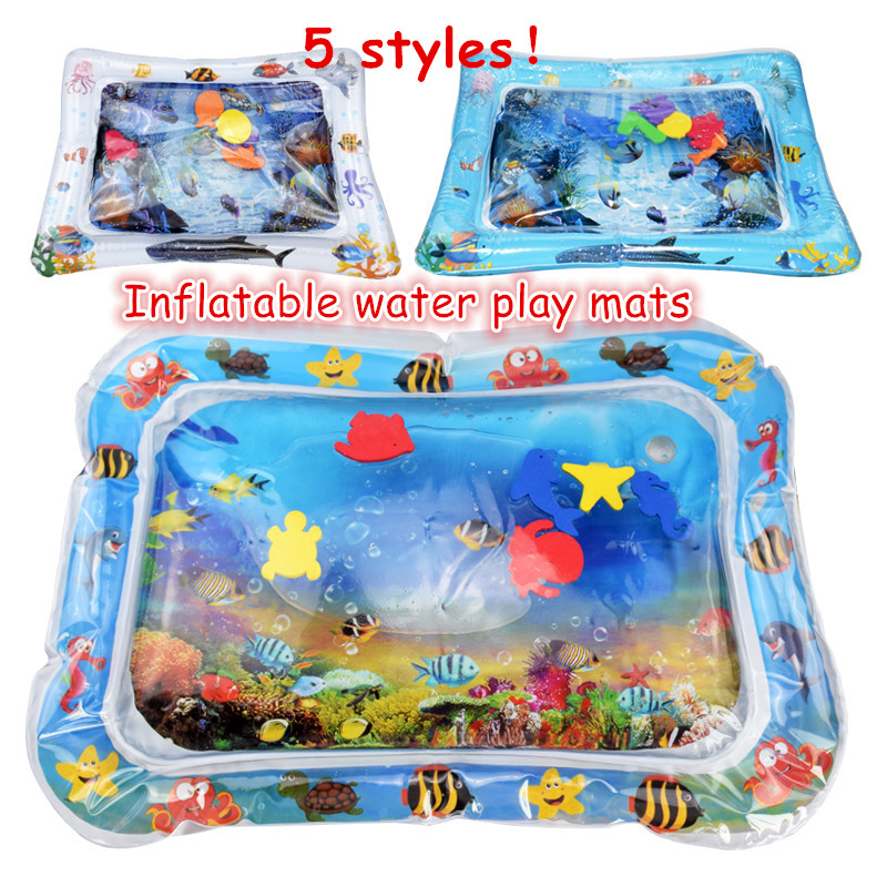 Baby Inflatable Patted Pad Multifunction Water Play Mat