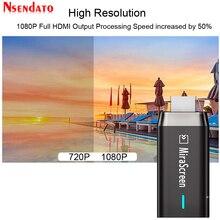 Double bande 5G/2.4G 1080P sans fil Miracast pour DLNA AirPlay HD Media TV récepteur Dongle Wifi affichage miroir écran TV bâton