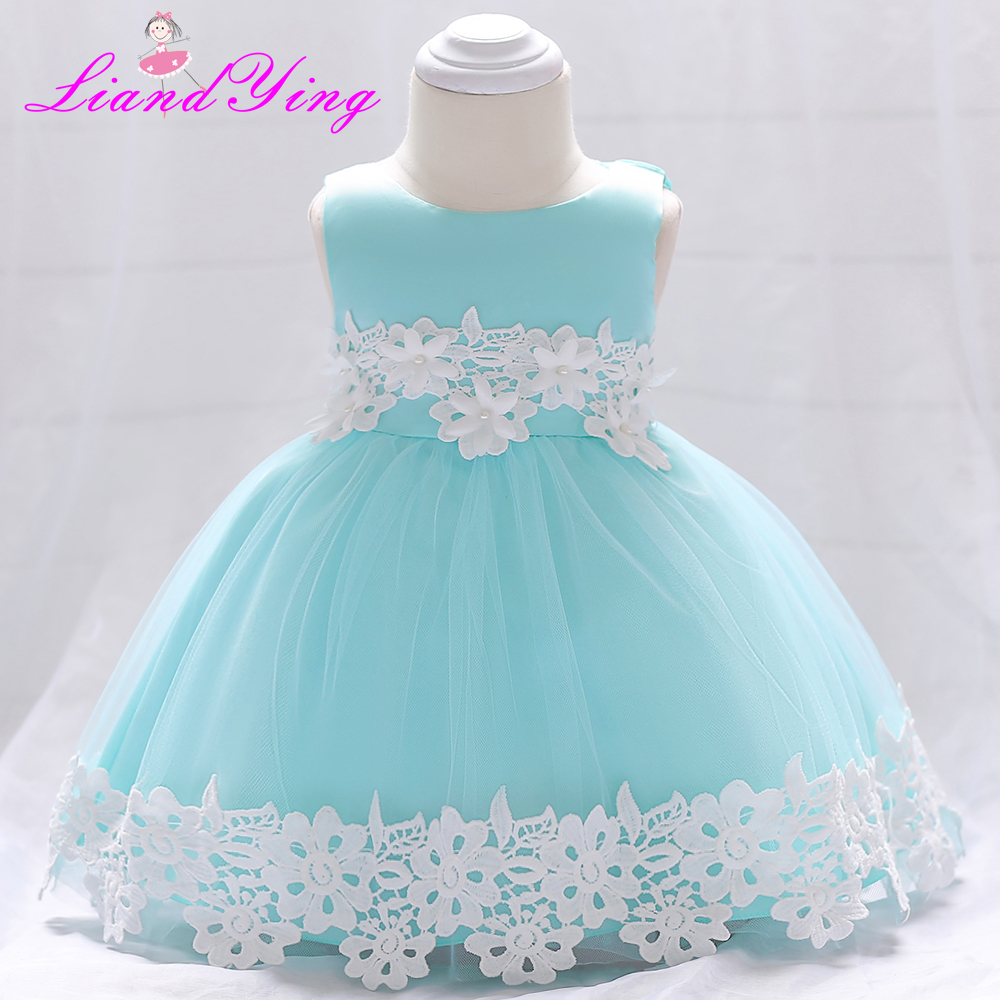 Baby Dress For Girls Dresses 2018 Baby Clothing Baptism 1st Birthday ...