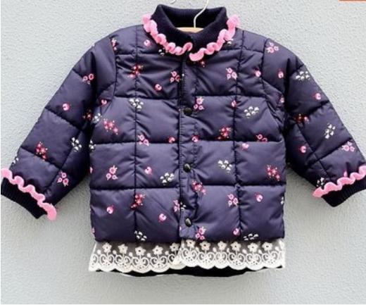 Новая осень и зима детская пальто / женские девочка зимнее пальто куртки вниз хлопок лайнер /Всё для детей Одежда и аксессуары зимнее пальто casacos reima пальто пуховик детская куртка girls winter coat