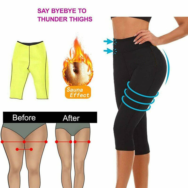 Women Neoprene Body Shaper Set Slim Waist Pants Belt Sweat Sauna Body Shaper Slimming Vest Thermo Neoprene Waist Trainer Top 2