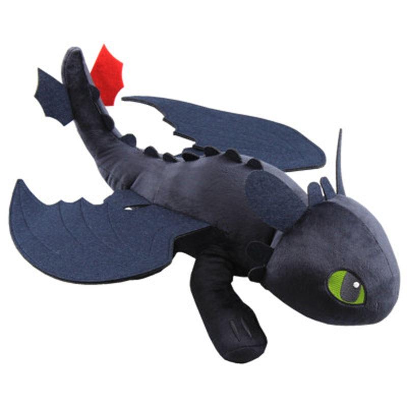 23cm Toothless Doll Plush Toy How To Train Your Dragon 3 Night Fury Plush Toy Stuffed Soft Animal Cartoon Gift Children Doll