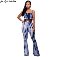 Jocelyn Katrina Brand Fashion 2 Ps Backless Long Rompers Novelty Print Rompers Sexy Club Jumpsuit