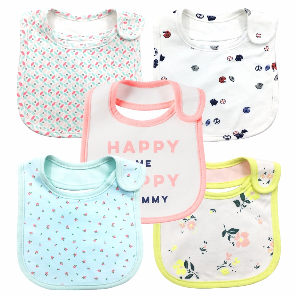 100% Cotton Baby Bibs Waterproof Bandana Baby Girls boys Bibs & Burp Cloths Baby Clothing Product Towel Bandanas Wholesale
