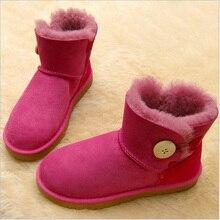 2017 Детская обувь Мех животных sonw Сапоги и ботинки для девочек зимние теплые Снегоступы для мальчика и Обувь для девочек детей Обувь для младенцев малыша обувь с пряжкой на ремешке