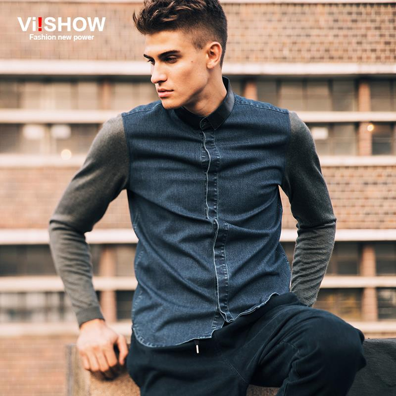 High Quality Men Denim Shirts-Buy Cheap Men Denim Shirts lots from ...
