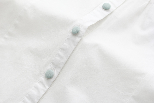 Floral Embroidery White Blouse 5