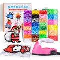 Комплект бусин Perler 5 мм/2,6 мм Hama, полный набор бусин с пегдоской и железным 3d-пазлом, игрушка «сделай сам» для детей, креативное ремесло ручной...