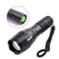 Waterproof LED Flashlight 5-Modes 200 Meter Zoomable Protable Torch Light Bike Light Linterna AAA/18650 Battery Lanterna Tatica