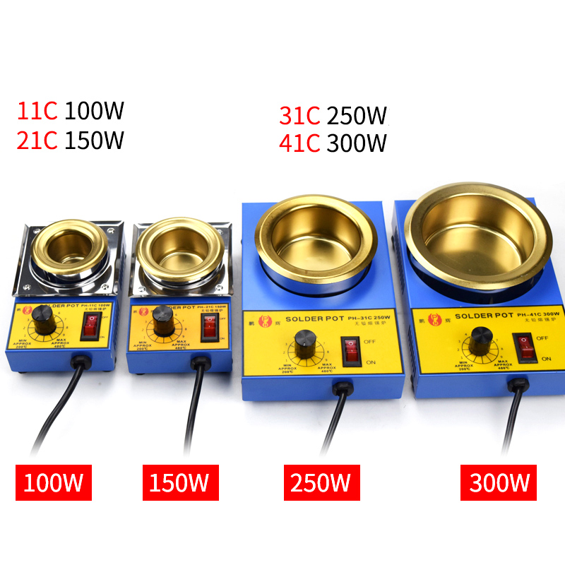 CM-180S Lead-Free Titanium Alloy Solder Soldering Pot Desoldering Bath 1200W Pro