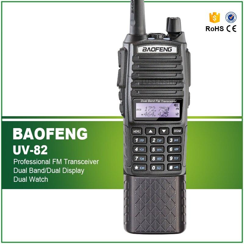 bilder für Neue ankunft dual-band 5 watt baofeng uv-82 mit lange batterie und dual ptt kopfhörer