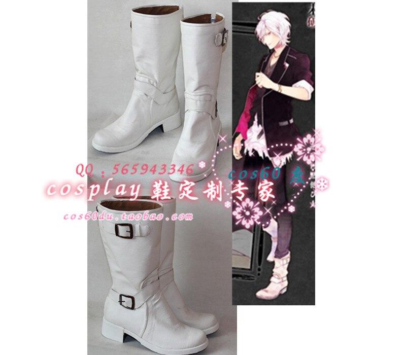Anime Diabolik Lovers Subaru Sakamaki Christmas Halloween Party Cosplay Shoes S008