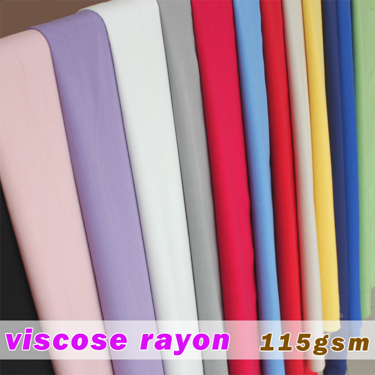 100% Viscose Tissu de Soie Artificielle Coton Tissu Jupe Écharpe Apperal Rayonne Tissu 60 large Vendu Par La Cour Livraison Gratuite