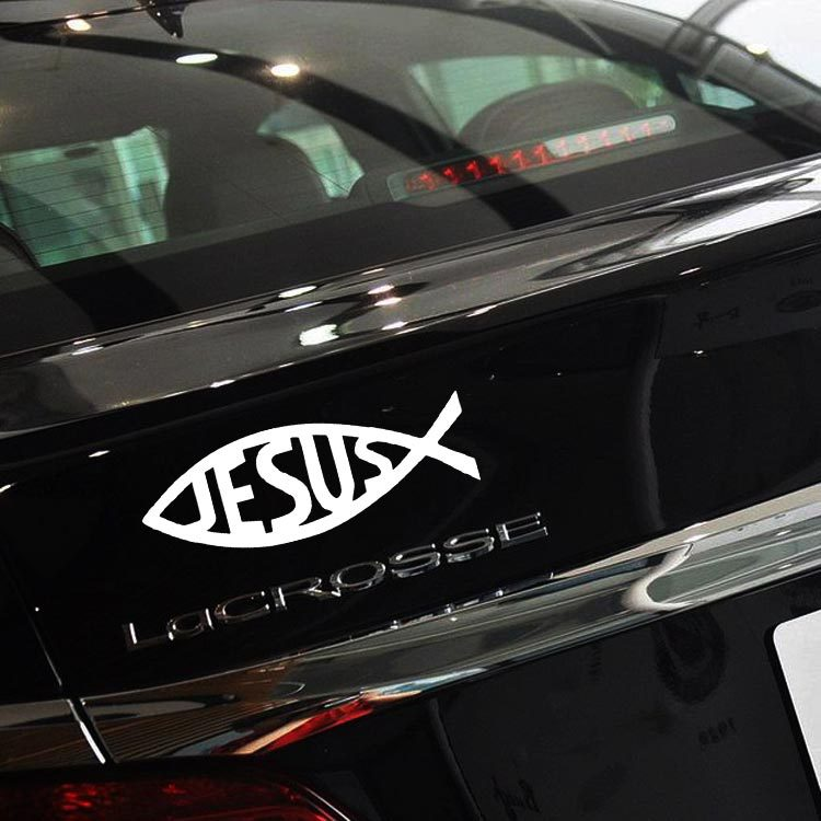 Online buy wholesale jesus car decals from china jesus car for Vinyl window designs ltd complaints