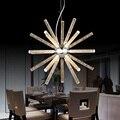 Criativo moderno led luzes pingente pendurado para a loja de bar sala de jantar cozinha ac85-265v acrílico led luminária free grátis