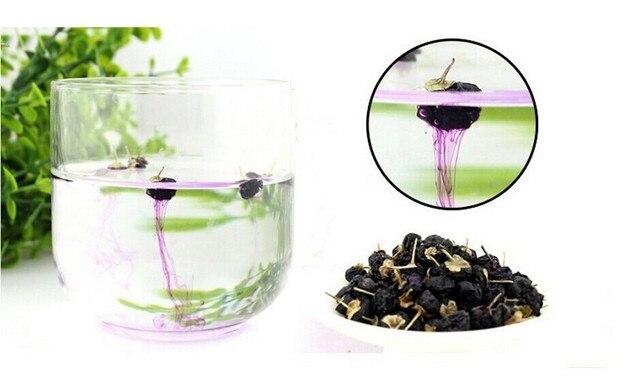 100g Dried Organic black goji Berries wolfberry Goqi Ningxia  goji berry tea,food tea,R21650025,Free Shipping