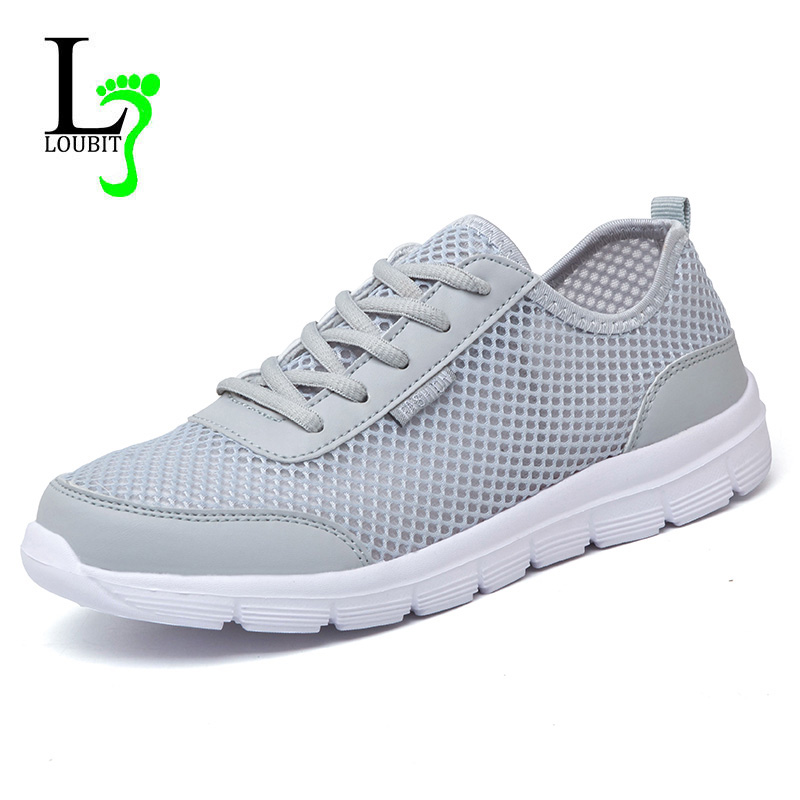 Shoes Mens Casual Shoes Lace-up Sneakers Outdoor Running Comfort Driving Shoes (Color : White Size : 41)