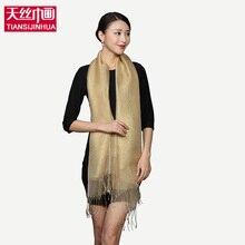 2016 New Luxury Brand Style Shawl Solid Tartan Design Silk Scarf 180x70cm Big Size Hijab Fashion