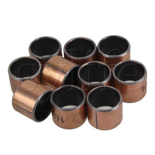 Bronze SF-1 Self Lubricating Oilless Bearing Bushing 10mm x 12mm x10mm Pack Of 10