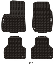 Special No Odor Carpets Waterproof Rubber Car Floor Mats for Audi A4 Q3 Q5 Q7 A6L for audi q7 2015 2019 rubber floor mats into saloon 5 pcs set seintex 86854
