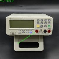 Dijital Masa Üstü Multimetre Sıcaklık Ölçer Cihazı PC Analog 80,000 sayımlar Analog Çubuk Grafik w/23 kesimleri DMM VICH VC8145