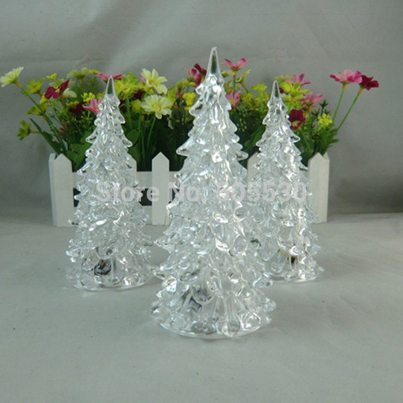 aliexpresscom buy vintage crystal christmas tree led night light seven color changing home table lamp decoration from reliable lamp people suppliers on - Crystal Christmas Tree