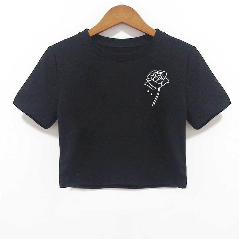 Riverdale Crop Tops T Shirt Womens Friends Tv Show Korean Fashion Kawaii Streetwear Friends Tshirt Short Sleeve Tees Shirt Femme
