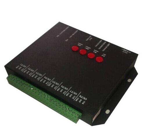 Полноцветный T 8000C программируемый контроллер светодиодный диммер с sd картой