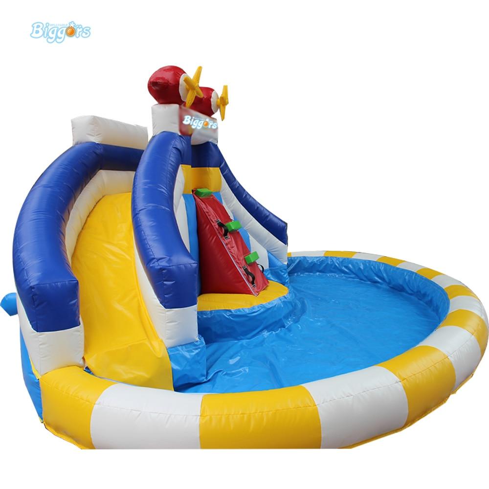 Backyard Inflatable Water Slide Pool Inflatable Water Park ...