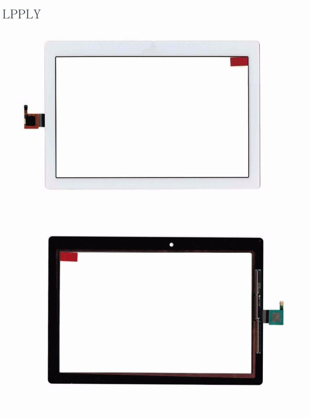 LPPLY New 10.1'' For Lenovo Tab 2 A10-30 YT3-X30 X30F TB2-X30F Tb2-x30l A6500 Touch Screen Digitizer Sensor Replacement Parts