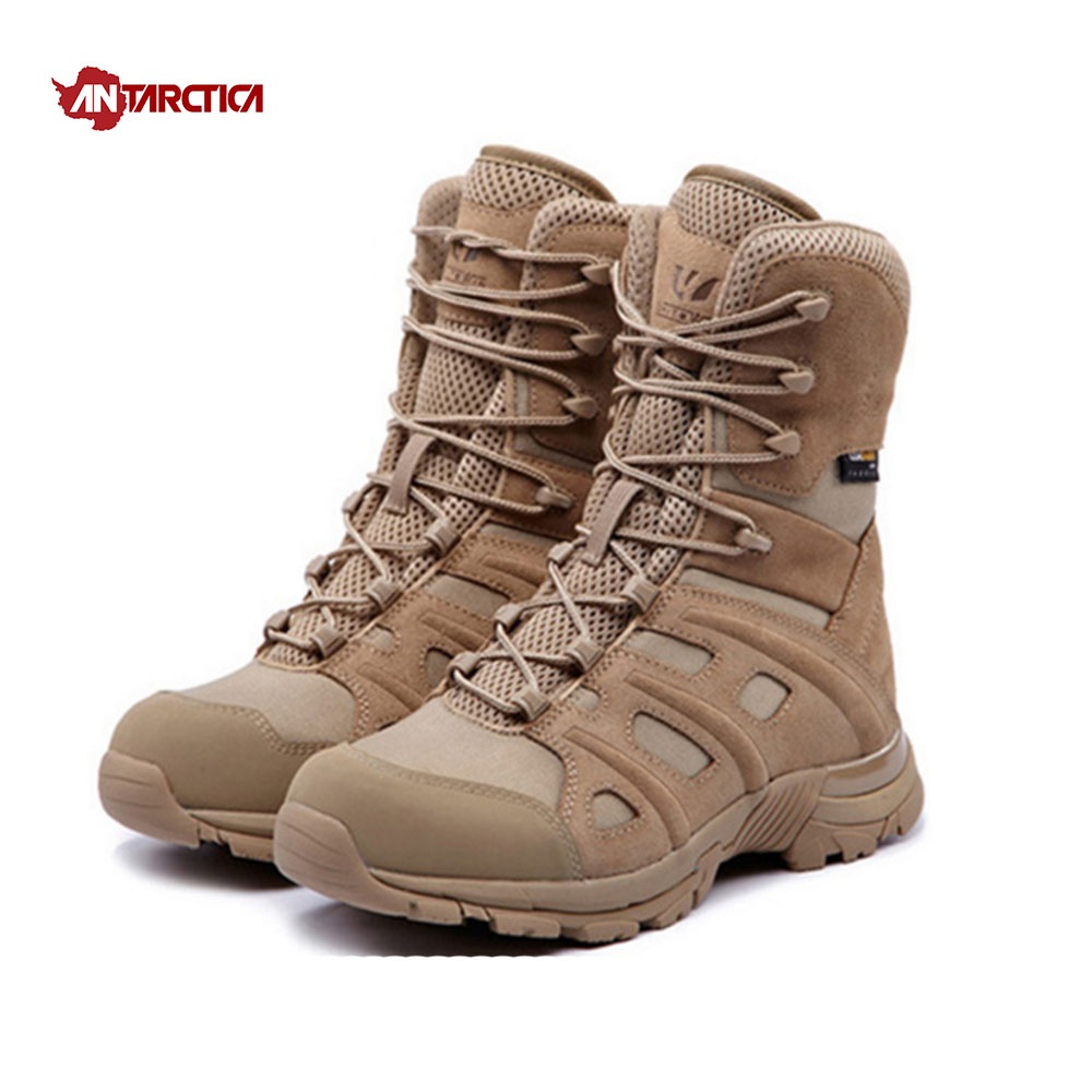 ANTARCTICA Outdoor Sports Men's Hiking Shoes Waterproof Hiking Boots Tactical Boots Outdoor Mountain Climbing Sports Sneakers