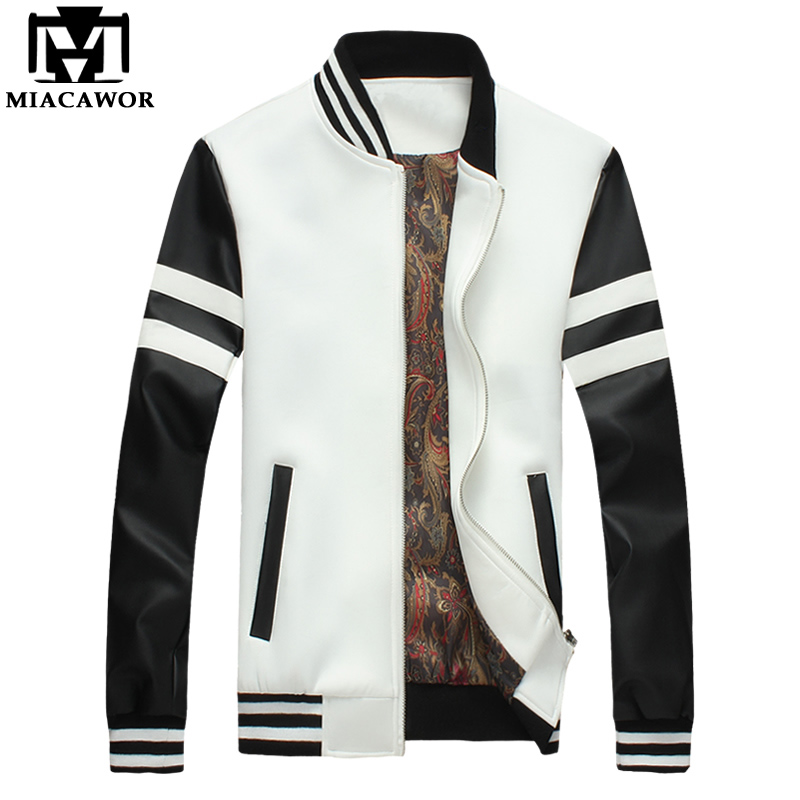 2013 autumn and winter mens leather jacket black jacket