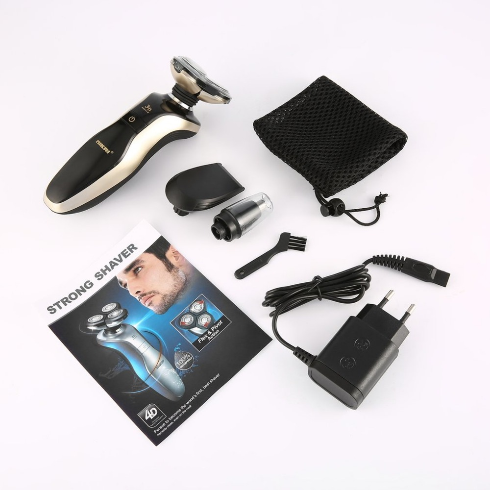 Men Portable Rechargeable 3 in 1 Electric Shaver Multifunctis